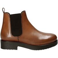 Čevlji  Ženske Gležnjarji Mally 5535J Rjav