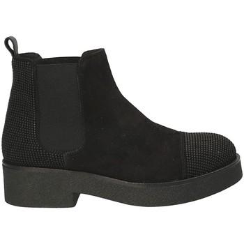 Čevlji  Ženske Gležnjarji Mally 5536 Črna