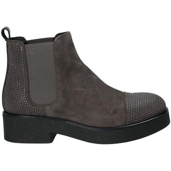 Čevlji  Ženske Gležnjarji Mally 5536 Rjav