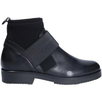 Čevlji  Ženske Gležnjarji Mally 5887 Črna
