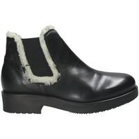 Čevlji  Ženske Gležnjarji Mally 5894 Črna