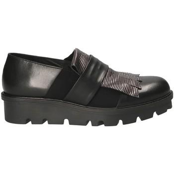 Čevlji  Ženske Slips on Mally 5965 Črna
