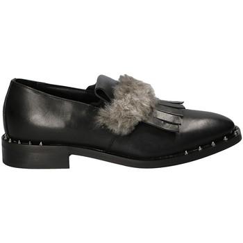 Čevlji  Ženske Mokasini Mally 5970 Črna