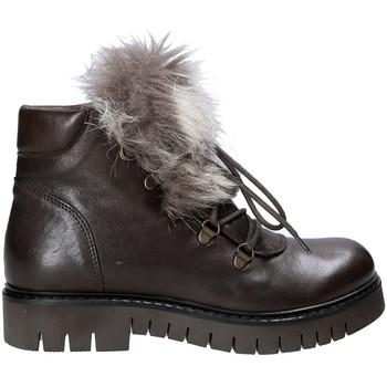 Čevlji  Ženske Polškornji Mally 5985 Rjav