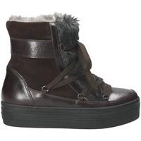 Čevlji  Ženske Škornji za sneg Mally 5990 Rjav