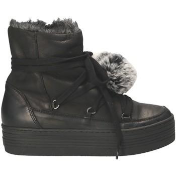 Čevlji  Ženske Škornji za sneg Mally 5991 Črna