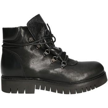 Čevlji  Ženske Polškornji Mally 5997 Črna