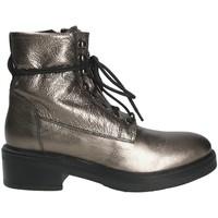 Čevlji  Ženske Gležnjarji Mally 6005 Siva