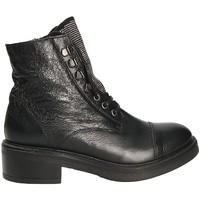 Čevlji  Ženske Gležnjarji Mally 6019 Črna