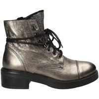 Čevlji  Ženske Gležnjarji Mally 6019 Siva