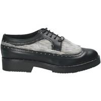 Čevlji  Ženske Čevlji Derby Mally 4665SD Črna