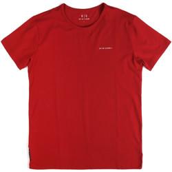 Oblačila Moški Majice s kratkimi rokavi Key Up 2G69S 0001 Rdeča