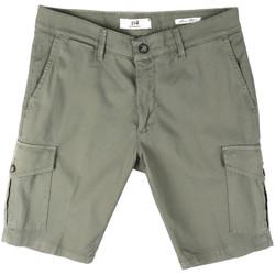 Oblačila Moški Kratke hlače & Bermuda Sei3sei PZV130 8157 Zelena