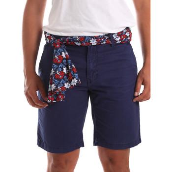 Oblačila Moški Kratke hlače & Bermuda Gaudi 911BU25032 Modra