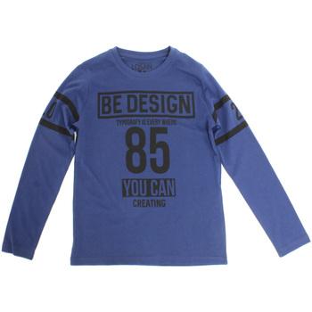 Oblačila Otroci Majice z dolgimi rokavi Losan 723 1203AA Modra