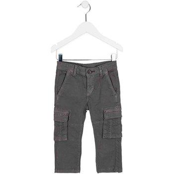 Oblačila Otroci Hlače cargo Losan 725 9011AC Zelena