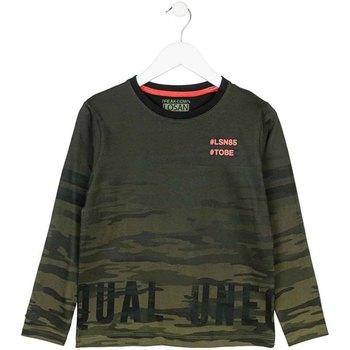 Oblačila Otroci Majice z dolgimi rokavi Losan 723 1013AA Zelena