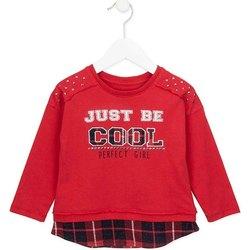 Oblačila Deklice Puloverji Losan 726 1026AD Rdeča