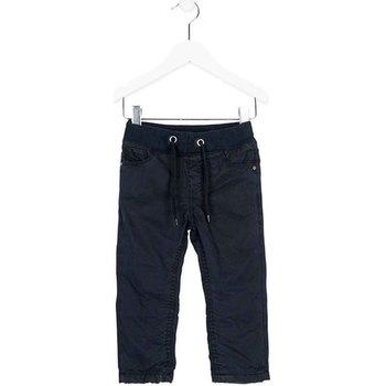 Oblačila Dečki Hlače Chino / Carrot Losan 725 9660AC Modra