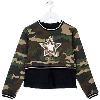 Oblačila Otroci Puloverji Losan 724 6023AB Zelena