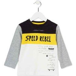 Oblačila Otroci Majice z dolgimi rokavi Losan 725 1018AC Biely