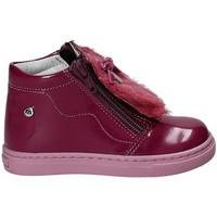 Čevlji  Deklice Gležnjarji Melania ME0115A7I.C Vijolična