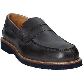 Čevlji  Moški Mokasini Exton 9102 Siva