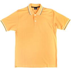 Oblačila Moški Polo majice kratki rokavi Key Up 2Q70G 0001 Rumena