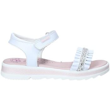 Čevlji  Deklice Sandali & Odprti čevlji Pablosky 4681 Biely