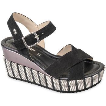 Čevlji  Ženske Sandali & Odprti čevlji Valleverde 32435 Črna