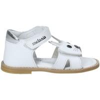 Čevlji  Deklice Sandali & Odprti čevlji Melania ME8002B8E.A Biely
