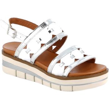 Čevlji  Ženske Sandali & Odprti čevlji Grunland SA2541 Biely