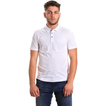 Oblačila Moški Polo majice kratki rokavi Ea7 Emporio Armani 8NPF21 PJ48Z Biely