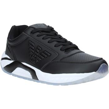 Čevlji  Moški Nizke superge Ea7 Emporio Armani X8X022 XK116 Črna