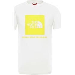 Oblačila Otroci Majice s kratkimi rokavi The North Face NF0A3BS2P801 Biely