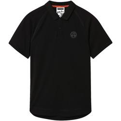 Oblačila Moški Polo majice kratki rokavi Napapijri NP0A4E8Q Črna
