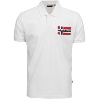 Oblačila Moški Polo majice kratki rokavi Napapijri NP0A4E2K Biely