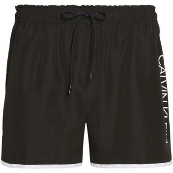 Oblačila Moški Kopalke / Kopalne hlače Calvin Klein Jeans KM0KM00439 Črna