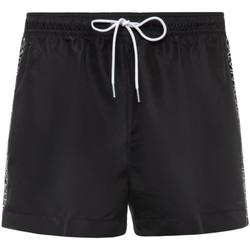 Oblačila Moški Kratke hlače & Bermuda Calvin Klein Jeans KM0KM00457 Črna