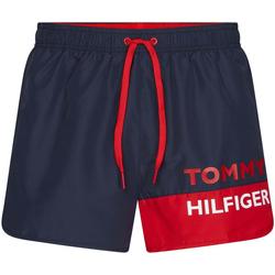 Oblačila Moški Kopalke / Kopalne hlače Tommy Hilfiger UM0UM01683 Modra
