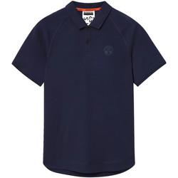 Oblačila Moški Polo majice kratki rokavi Napapijri NP0A4E8Q Modra