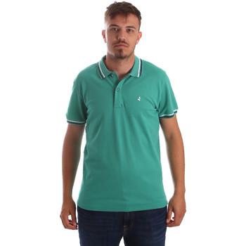 Oblačila Moški Polo majice kratki rokavi Navigare NV82077 Zelena