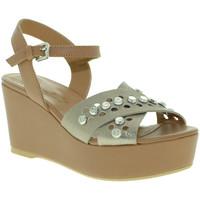 Čevlji  Ženske Sandali & Odprti čevlji Mally 6237 Rjav