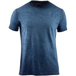 Oblačila Moški Majice s kratkimi rokavi Lumberjack CM60343 004 517 Modra