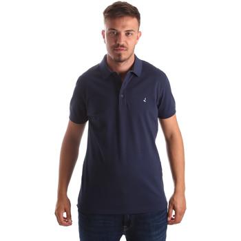 Oblačila Moški Polo majice kratki rokavi Navigare NV82097 Modra