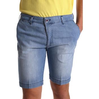 Oblačila Moški Kratke hlače & Bermuda Sei3sei PZV132 7118 Modra
