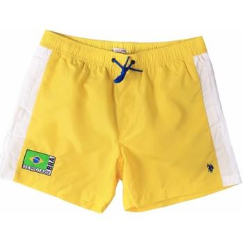 Oblačila Moški Kopalke / Kopalne hlače U.S Polo Assn. 45282 41393 Rumena