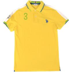 Oblačila Moški Polo majice kratki rokavi U.S Polo Assn. 43770 41029 Rumena