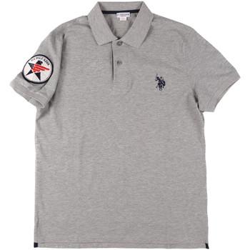 Oblačila Moški Polo majice kratki rokavi U.S Polo Assn. 43767 41029 Siva