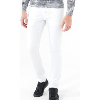 Oblačila Moški Hlače s 5 žepi Antony Morato MMTR00372 FA800060 Biely